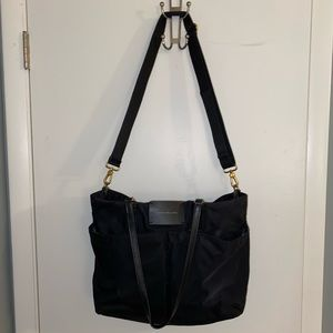 Marc by Marc Jacobs Black Baby Bag/Oversized Bag
